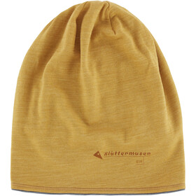 Klättermusen Eir Beanie dark honey-grey melange